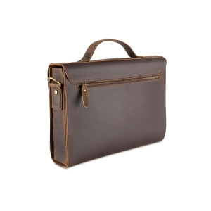 Rohit Bal Antique Finish Leather Bag for Men