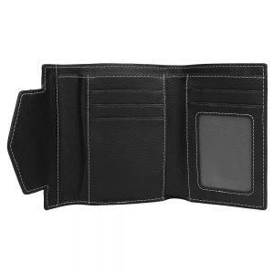 Vajero Leather  Bi-Fold  Wallet with Flap for Women