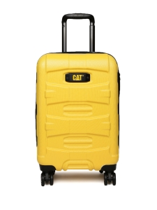 CAT Unisex Yellow Tank Nested Anti scratch Cabin/Carry On Small Hardside Trolley Suitcase 18 Inches _ 45.72 CM