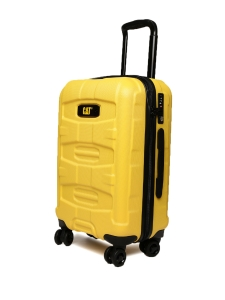 CAT Unisex Yellow Tank Nested Anti scratch Check In Medium Hardside Trolley Suitcase 24 Inches _ 60.96 CM