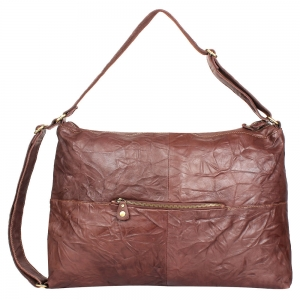 Rohit Bal Two - Way Crushed Leather Bag