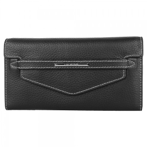 Vajero Leather  Clutch Wallet with Flap for Women