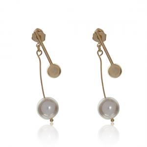 Lesk Pendulum Style Drop Earrings