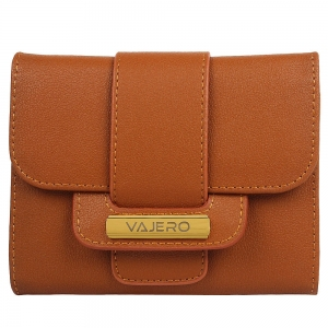 Vajero Patterned Bi-Fold Wallet for Women