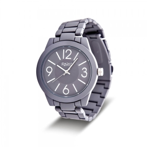 Forst Unisex  Analogue Watch with Chain Strap
