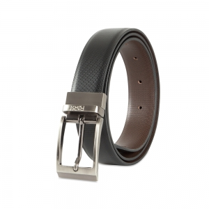 Genuine Leather Reversible Belt for Mens- 101.6cm