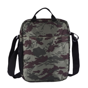 CAT Unisex Kilimanjaro Olive/Chocolate Sling/Crossover shoulder 8 inch Tablet/Messenger Bag  (83367-398)