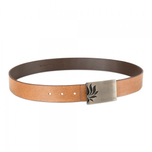 Rohit Bal Genuine Leather belt with Tiger Design (90 Cms.)