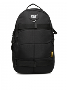 CAT Unisex Bryan 27 Ltrs 4 Compartment Black Solid Laptop Backpack (83433-01)