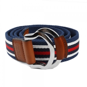Striped Webbing Belt For Men (32/36)