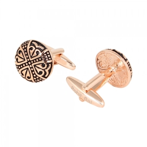 Rohit Bal Rose Gold Cufflinks
