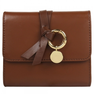 Vajero  Leather Bi-Fold Wallet with Straps for Women