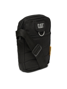 CAT Unisex Rodney MillennialClassic 1.5 Ltrs Black Casual Solid Messenger Bag