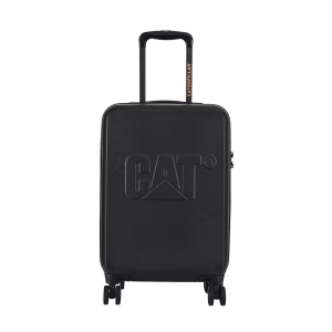CAT Matte Shell ABS 55 CM Black Hardside lightweight Cabin Suitcase/trolley (Cat-D 83549-82)