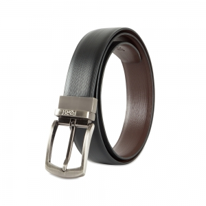 Genuine Leather Reversible Belt for Men- 86.36 cm