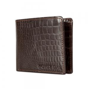 Rohit Bal Leather Bi-Fold Wallet