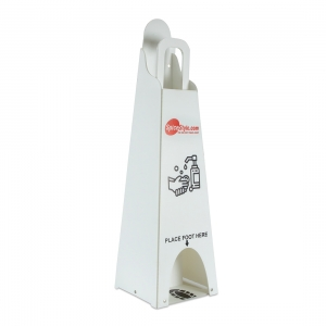 Foldable Sanitizer Stand Dispenser (Footpress)