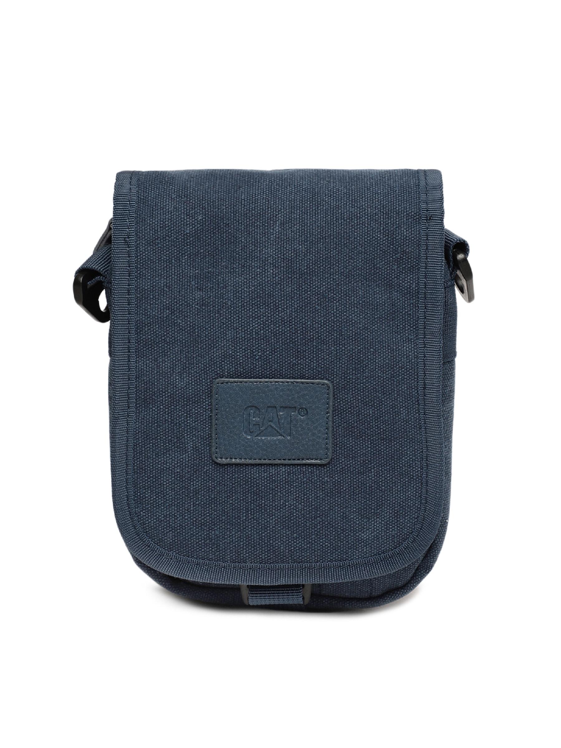 5a1ab8c55d CAT Unisex Utility bag Earthline 1.5 Ltrs Blue Casual Solid Messenger Bag